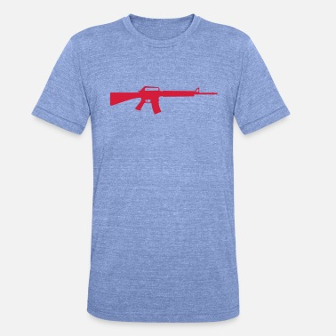 Machine Gun Machine Gun - Unisex Tri-Blend T-Shirt