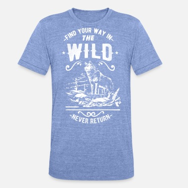 Wilderness wilderness - Unisex Tri-Blend T-Shirt