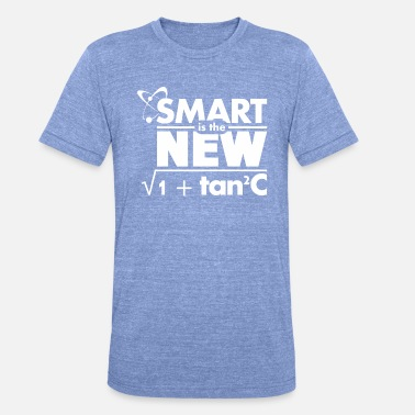 Smart Sprüche Smart is the new... - Unisex T-Shirt meliert