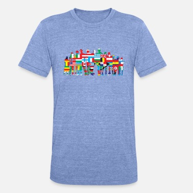 United Nations - T-shirt chiné unisexe