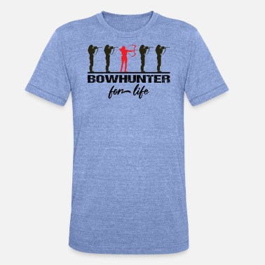 Bow Rider Archer Bowhunter Archery Gifts - Unisex Tri-Blend T-Shirt