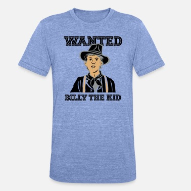 Wanted WANTED BILLY - Unisex T-Shirt meliert