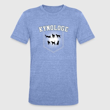 Cynologist Cynology Gift for dog trainer - Unisex Tri-Blend T-Shirt by Bella & Canvas