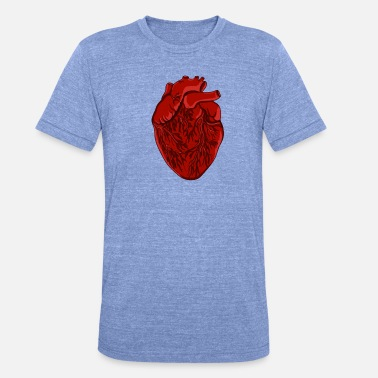 Heart Palpitations Heart palpitations doctor nurse gift - Unisex Tri-Blend T-Shirt