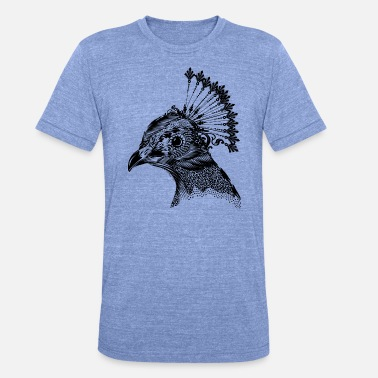 Peacock Peacock - Triblend T-shirt unisex