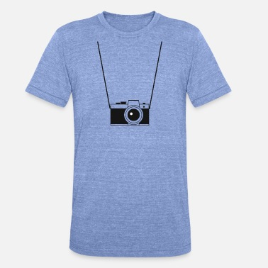 Photo appareil photo - T-shirt chiné unisexe