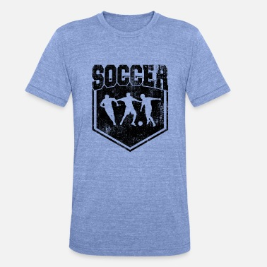 Soccer Pitch Soccer Soccer - Unisex Tri-Blend T-Shirt by Bella & Canvas