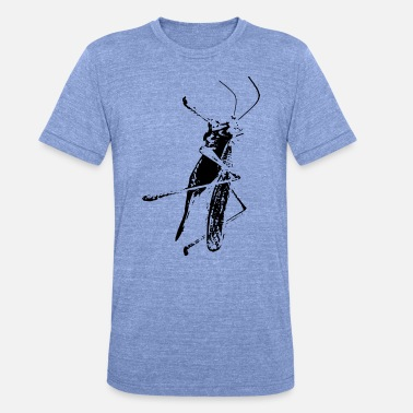 Cricket cricket - Unisex tri-blend T-skjorte fra Bella + Canvas