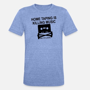 Home Taping Personalize: Home Taping - Unisex Tri-Blend T-Shirt