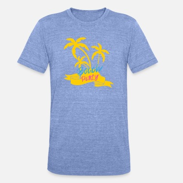Beach Party Beach Party - Unisex T-Shirt meliert