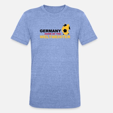 Sprookje Germany home of the weltmeister - Unisex triblend T-shirt