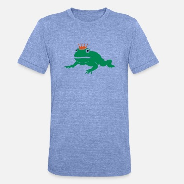 Gnaven grumpy frog prince - Unisex triblend T-shirt