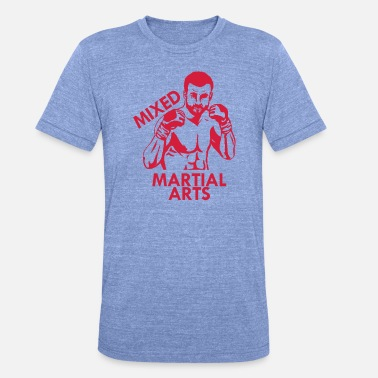 Mixed Martial Arts Mixed Martial Arts - Unisex triblend t-paita