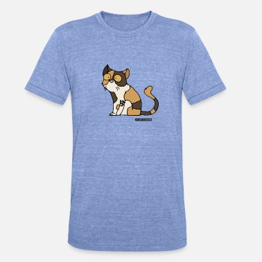 Exotic Cat - exotic shorthair - Unisex Tri-Blend T-Shirt by Bella & Canvas