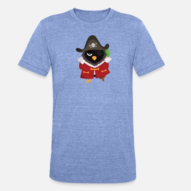 Pirate Pingouin pirate - T-shirt chiné unisexe