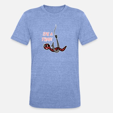 Funny angler T-shirt, It's a trap - Unisex Tri-Blend T-Shirt