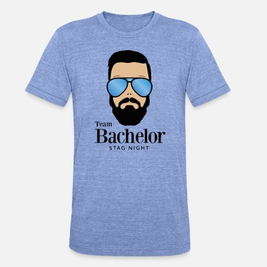 Ibiza Bachelor Party Bachelor Party Team Bachelor JGA Party Fun - Unisex Tri-Blend T-Shirt by Bella & Canvas