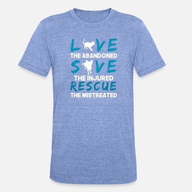 Lover Animal love shirt for animal lovers - Unisex Tri-Blend T-Shirt