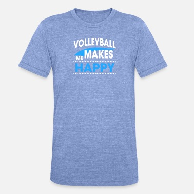 Pallavolo VOLLEYBALL - Unisex triblend T-shirt