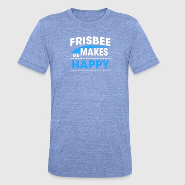 Frisbee FRISBEE - T-shirt chiné Bella + Canvas Unisexe