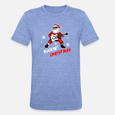 Christmas Funny Funny Christmas shirt - Unisex Tri-Blend T-Shirt by Bella & Canvas