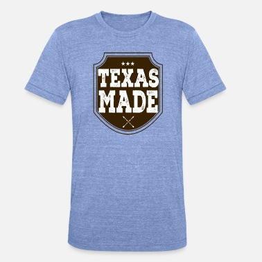 Texas Texas Made - Triblend-T-shirt unisex från Bella + Canvas