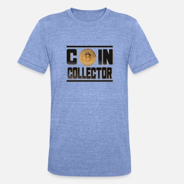 Coin Bitcoin - Coin Collector Bitcoin Coin - Triblend T-shirt unisex