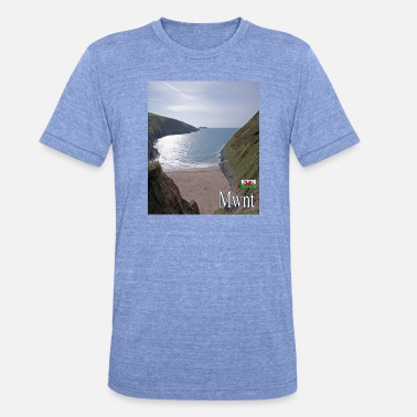Journey Mwnt, Wales - Unisex Tri-Blend T-Shirt
