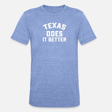 Does Texas Does - Unisex Tri-Blend T-Shirt