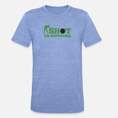 Snooker shot to nothing - Unisex Tri-Blend T-Shirt