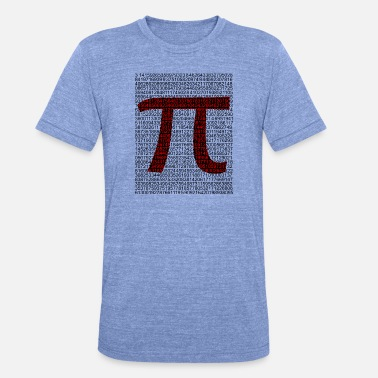 High Quality PI High Quality for Nerds - Unisex Tri-Blend T-Shirt by Bella & Canvas
