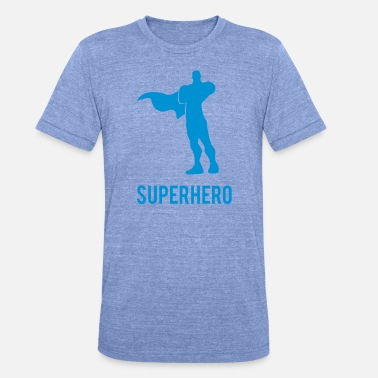 Super Hero Super Hero - Unisex triblend T-shirt