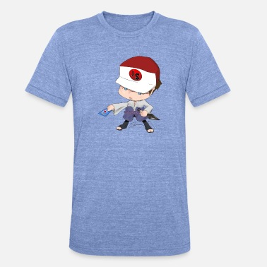 Chibi Chibi - Unisex tri-blend T-shirt van Bella + Canvas