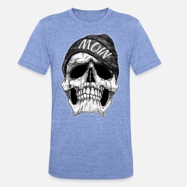 Dead Sea MOIN DEAD HEAD - Unisex Tri-Blend T-Shirt by Bella & Canvas