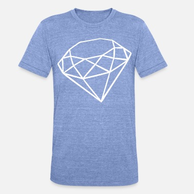 Icon Diamant - Unisex T-Shirt meliert
