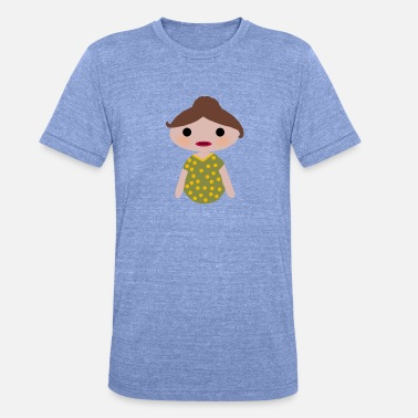 I Love Mom YOGIDOLL I LOVE MOM - Koszulka Bella + Canvas triblend – typu unisex