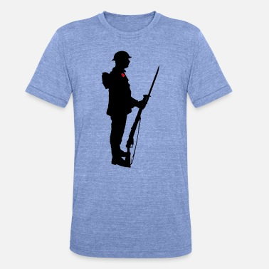 Soldaat WW1 - Unisex triblend T-shirt