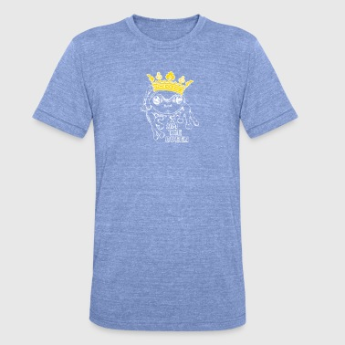 Frog Prince Frog Queen - Unisex tri-blend T-shirt van Bella + Canvas