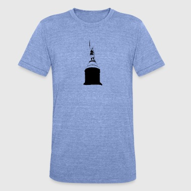 Monument Hermann's monument - Unisex tri-blend T-shirt van Bella + Canvas