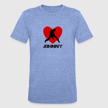 Johnny Johnny - Unisex Tri-Blend T-Shirt by Bella & Canvas