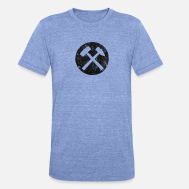 Mallet Mallets and irons - Unisex Tri-Blend T-Shirt by Bella & Canvas