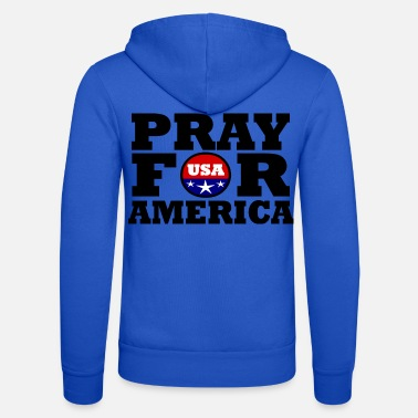 Us Amerika / USA / Pray For America - Unisex Kapuzenjacke