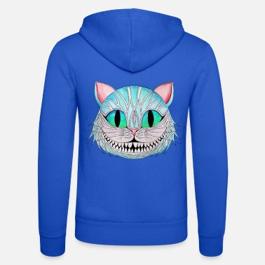Cat The Cheshire Cat - Unisex Zip Hoodie
