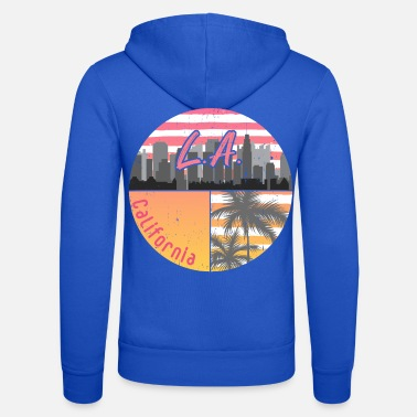 Hollywood Skyline van Los Angeles - Unisex zip hoodie