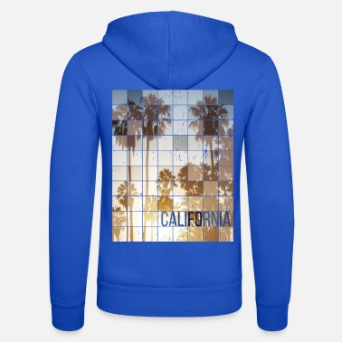 Skateboard Californa Sunset Cube Vintage - Felpa con zip unisex
