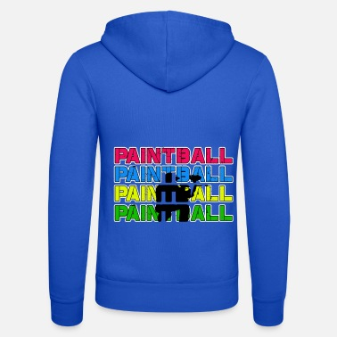 Paintball Paintball Paintball Paintball Paintball - Unisex Zip Hoodie