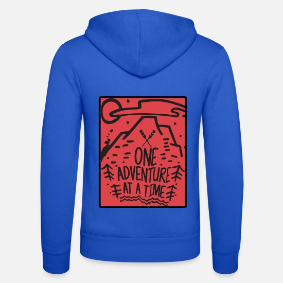 Forest Hoodies & Sweatshirts - Mountains, nature, wilderness and adventure - Unisex Zip Hoodie royal blue