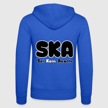 SKA ei ass - Unisex Bella + Canvas -hupputakki