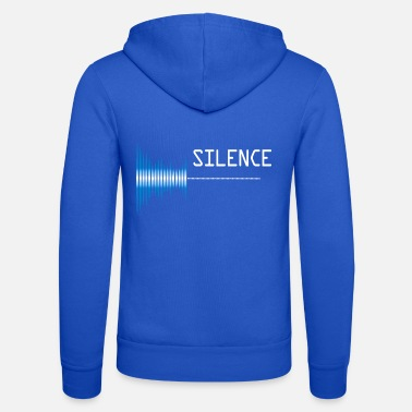 Pollution Sound silence Sound pollution Pollution - Unisex Zip Hoodie