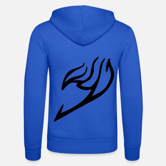 Fairy Tail Hoodies & Sweatshirts - Fairy tail symbol - Unisex Zip Hoodie royal blue